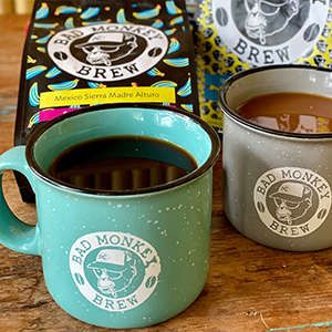 Bad Monkey Coffee Mugs